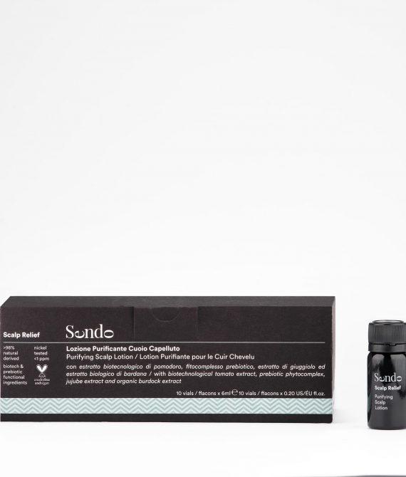 PURIFYING LOTION – Intensywna kuracja przeciwłupieżowa w ampułkach10x6ml Sendo