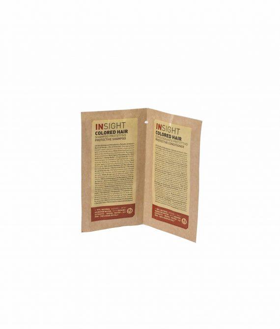 PROTECTIVE SHAMPOO + CONDITIONER – Próbka szampon + odżywka do włosów farbowanych  INSIGHT 10ml+10ml