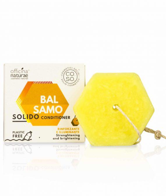 Wzmacniająca odżywka do włosów w kostce – Solid Conditioner Strenghtening