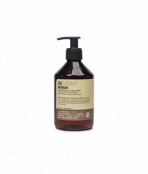 INTECH GENTLE EMOLLIENT SHAMPOO – Delikatny szampon nawilżający bez siarczanów 400ml INSIGHT