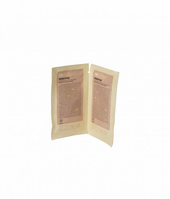SENSITIVE SHAMPOO + CONDITIONER – Próbka szampon + odżywka do wrażliwej skóry głowy  INSIGHT 10ml+10ml