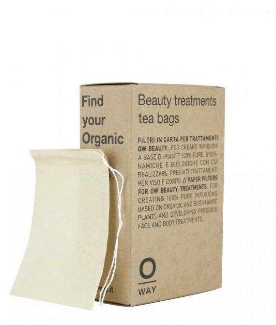 BEAUTY TREATMENTS TEA BAGS – Filtry do ziołowych naparów OWAY BEAUTY