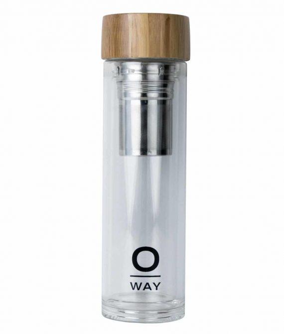 INFUSO – Elegancki szklany zaparzacz do przygotowania infuzji 450ml OWAY LIFE