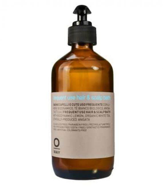 FREQUENT USE HAIR & SCALP BATH – Szampon do codziennej pielęgnacji skóry głowy i włosów 240ml OWAY