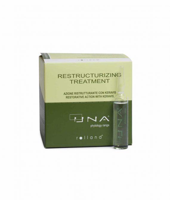 RESTRUCTURIZING TREATMENT – Kuracja odbudowująco – wzmacniająca w ampułkach 12x10ml UNA
