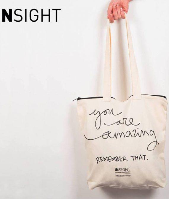 COTTON BAG – Bawełniana torba zapinana na ekspres INSIGHT