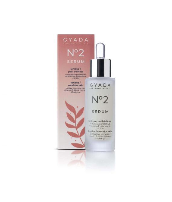 Wzmacniające serum do wrażliwej skóry twarzy – Face Serum n. 2 – LENITIVE / SENSITIVE SKIN