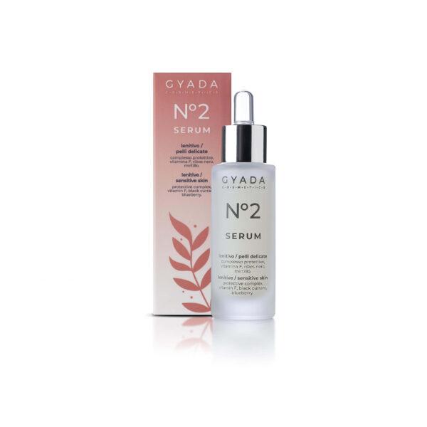 Face Serum n. 2 - LENITIVE / SENSITIVE SKIN Wzmacniające serum do wrażliwej skóry twarzy