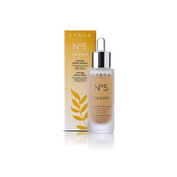 Face Serum n. 5 - ANTI-AGE / TENSOR EFFECT Serum Anti-Aging do twarzy