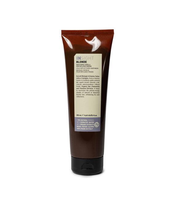 Maska do włosów blond z pigmentem – BLONDE MASK 250 ml INSIGHT