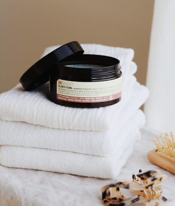 Delikatny szampon do kręconych włosów INSIGHT ELASTI-CURL 100g